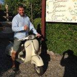 Silvio's Vespa