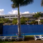 Plenty of sun loungers around all four pools