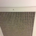 Air vent in bathroom!