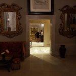 Lobby looking towards reception