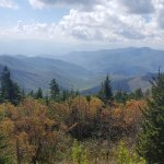 From Clingmans Dome parking lot