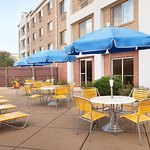 Outdoor Patio at Fairfield Inn & Suites Minneapolis Bloomington/Mall of America