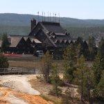 Old Faithful Inn, Yellowstone National Park.