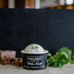 Chocolate and peppermint gelato
