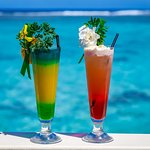 Tropical Cocktails in Paradise