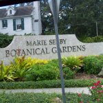 Marie Selby Botanical Gardens Sign