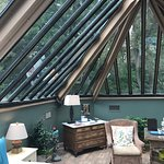 Conservatory room in the Sayre Mansion Inn