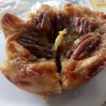 Pecan butter tart