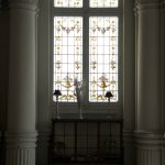 Beautiful window in the large dining room - Westminster Hotel & Spa