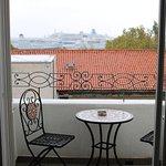 Balcony of the sea-view room