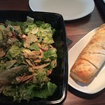house salad and house bread