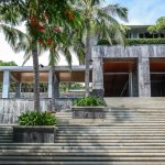 The main building of the Mandarin Oriental Sanya