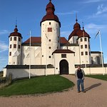 Me standing in front of Lacko Slott Castle