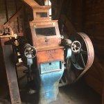 Old machinery with buffalo belts