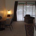 1 bedroom suite, quiet and in tranquil surroundings