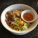 Grilled Lemongrass Chicken on Vermicelli