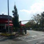 dual lane drive-thru at Chick-fil-A