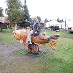 Ride the wild salmon