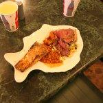 Neat fish shaped dinner plates