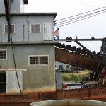 The dredge maching