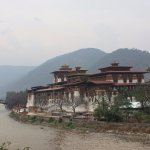 The Punakha Dzong was built by Zhabdrung in 1637. Is old capital city of Bhutan till 1960's..