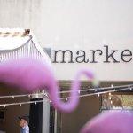Market loves its flamingos!