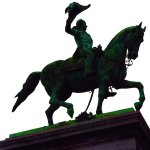 Equastrian Statue of William II Place Guillaume II Luxembourg 20170908