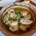 garlic scallops & prawns