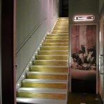 escalier montant aux chambres