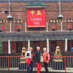 Arriving with Canadian friends for the Chung Ying experience