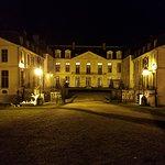 Vue du chateau de nuit