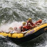 White Water Rafting on the Zambezi River!! What an experience!!!!