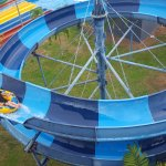 Get wacky at the Crazy Slide