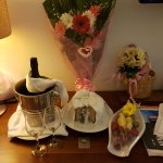 All the lovely presents compliments of management.