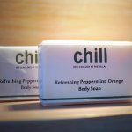 Chill's signature soap for daily with mix combination of scent of peppermint and orange scent