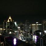 La terrasse du 32e étage