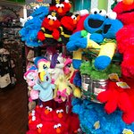 Gift shop at the Singapore Flyer - More Sesame Street
