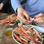My wife's langoustines - excellent