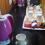 Well provided Tea Coffee