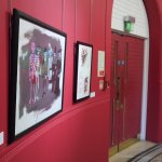 The Red Wall - Adrian Henri exhibition