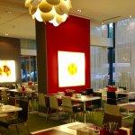 Bright, modern restaurant