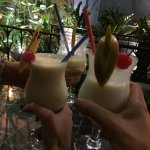 Hotel Barman makes good Pina Colada