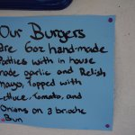 Go for the burger!