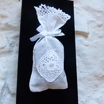 Lavender Bag-Handmade pieces of Clones lace available