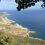 Just another stunning view in Cyprus. This is looking along the Akamas Peninsular.