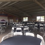 Our pavilion, an outdoor banquet structure