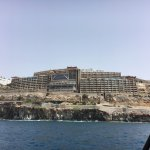 Gloria palace from the Ferry.