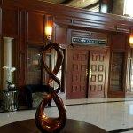 Beautiful artwork adorn the lobby.