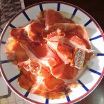 assiette de jambon