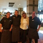 Wonderful staff in Dine!